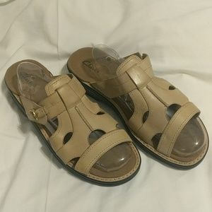Clarks leather sandals